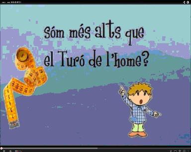 SOM MÉS ALTS QUE EL TURÓ DE L'HOME?