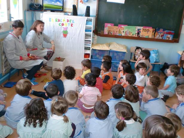 Ens visiten els nens i nenes de l'Escola Pascual
