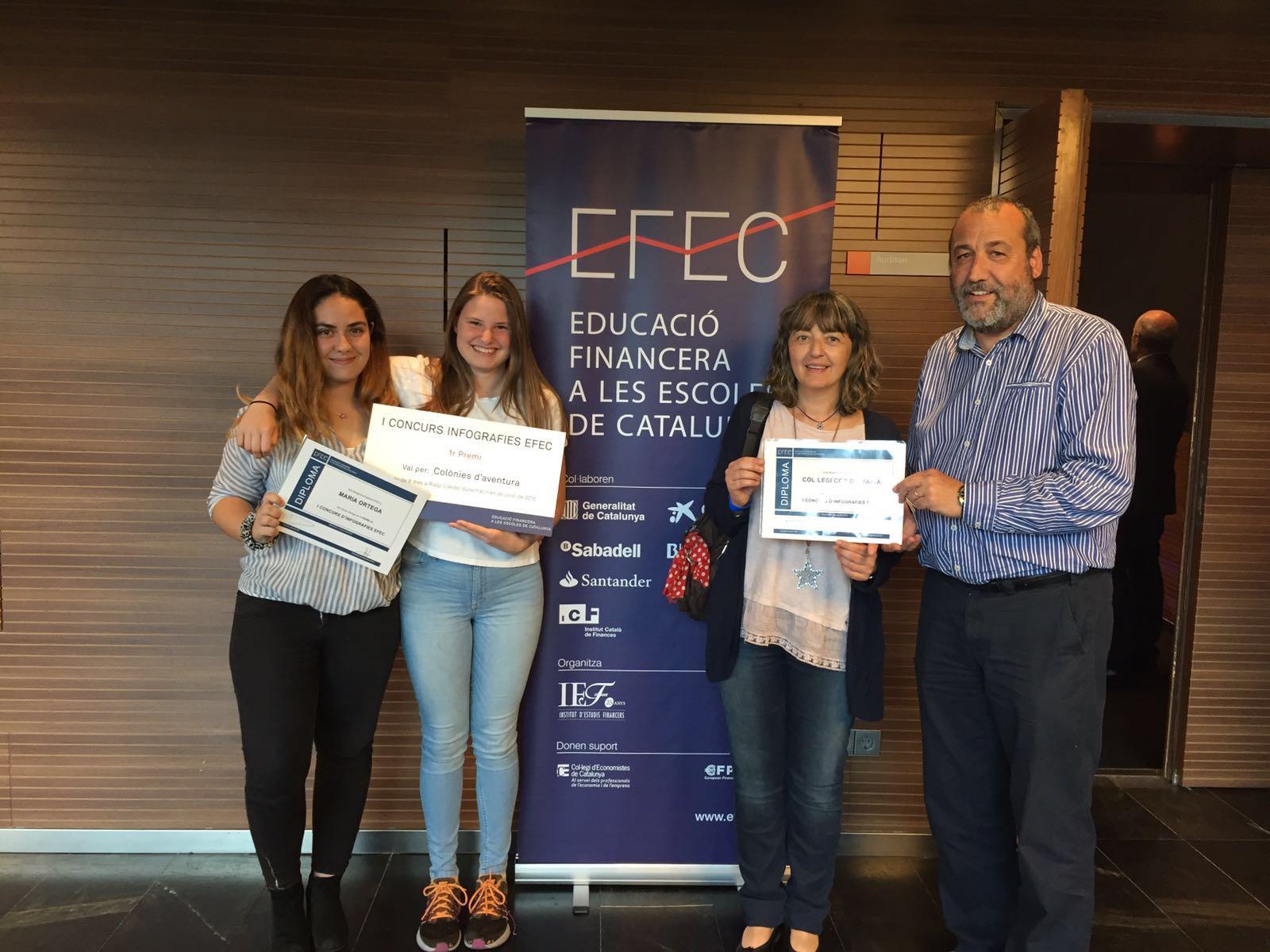 1r premi Concurs Infografies EFEC