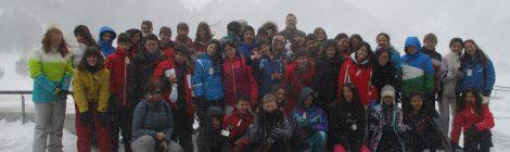 Esquiada a Núria