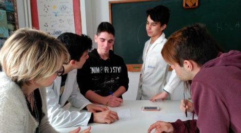 Intercanvi amb els alumnes de l'Avet Roig