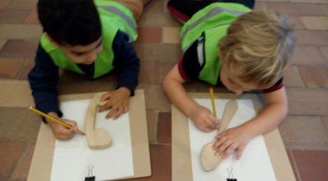 P4 i P5 coneixen l'obra de Joan Miró