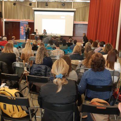 """L'escola presenta el Projecte """"k-em@'s 2.0"""" a la trobada de Centres Innovadors de Catalunya a Mataró"""