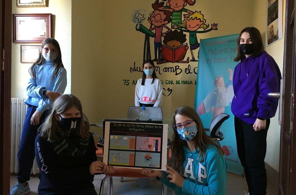 Els equips GirlsPower i GirlsConsum guanyen el 1r i 2n Premi de l'Agència Catalana del Consum.